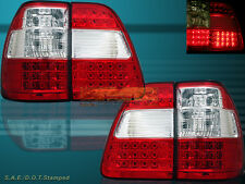 1998-2005 Toyota Land Cruiser Red LED Tail Lights Rear Lamps Left Right New