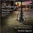 Claude Debussy - Debussy: String Quartet; Piano Trio; Deux Danses; Rêverie (2012)