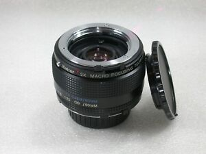 Vivitar-MC-2X-MACRO-Focusing-Teleconverter-Minolta-MD-Fit