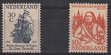 OLANDA NEDERLAND 1957 350° Ann Nascita Adriaanszoon 2 val. MNH** Unificato 671-2