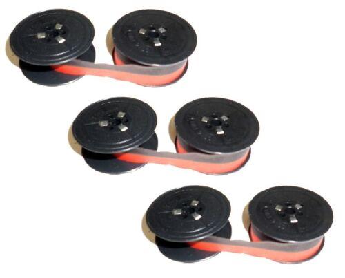 3 x Farbband Gruppe 1 Robotron Erika 32 34 42 44 1100 55 170 Electric Nylon 13mm