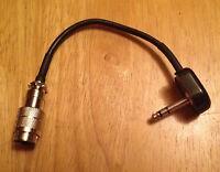 Kenwood 8 Pin Mic Jack To Drake Radios With S230 5.2mm Trs Microphone Plug