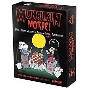Munchkin Morde!, Gioco di Carte Raven, Nuovo, Italiano