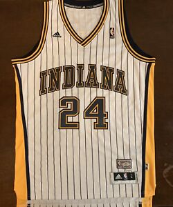 quality design 8fc8f 0c273 Details about Rare Adidas HWC NBA Indiana Pacers Paul George Basketball  Jersey
