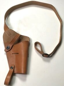 WWII-US-45-PISTOL-M3-SHOULDER-HOLSTER-NATURAL