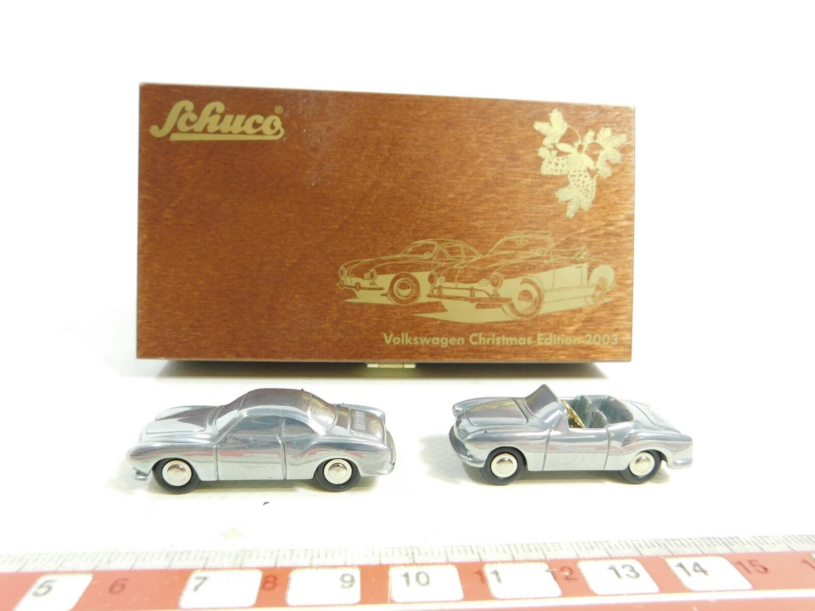 BD262-0,5  Schuco 1 90 0968 Set Volkswagen VW Christmas Edition 2003, s.g.+OVP
