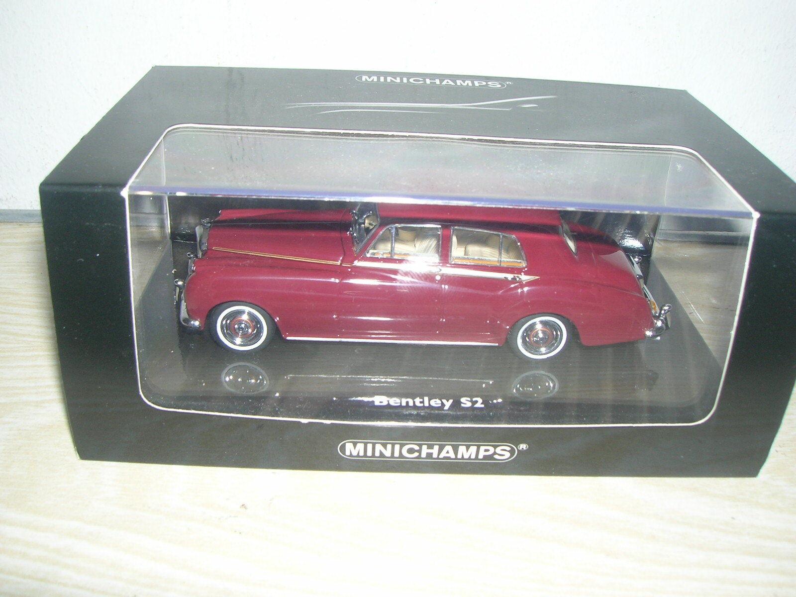 MINICHAMPS 139951-Bentley s2 Standard Saloon 1960 framboise écrasée 1 43 dans PC-Box