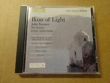 CD / HARRY CHRISTOPHERS - JOHN TAVENER: IKON OF LIGHT - THE SIXTEEN EDITION