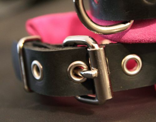 bed restraint chain leash 9 pc leather set wrist ankle collar
