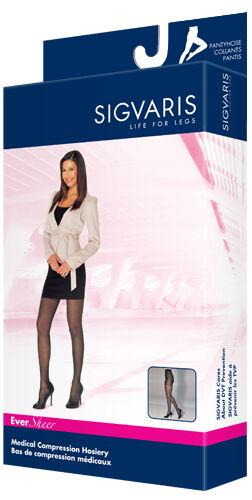 Sigvaris 780 EverSheer 15-20 mmHg Women/'s Pantyhose CT
