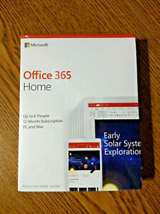Microsoft Office 365 Home 1-Year Subscription, 6-User ...