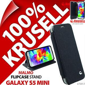 Krusell-Malmo-Custodia-Flip-Cover-Nero-Portafoglio-Folio-per-Samsung-Galaxy-S5