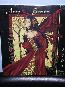 Amy Brown - 2004 Calendar - Hard to Find