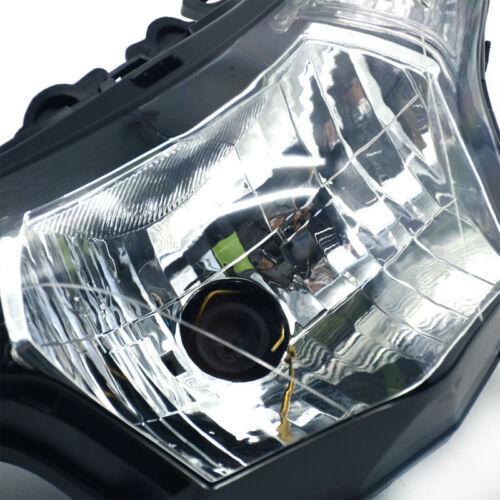 Black Motorcycle Front Headlight Head Lamp Assembly Fit Honda CBR250R 2011-2014