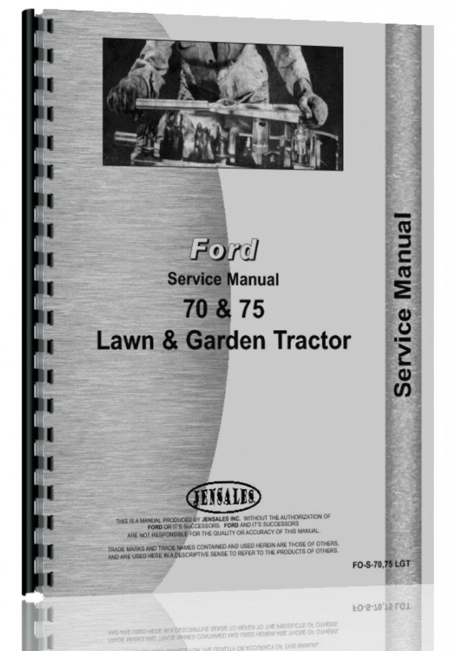 John Deere 70 Lawn and Garden Tractor Service Manual Jensales Unique  Christmas Gifts