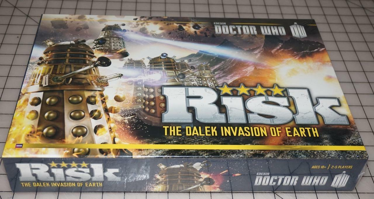 Doctor Who Risk The Dalek Invasion Of Earth Family Fun Board Game New Sealed