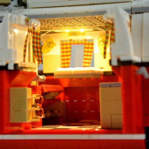 LED Licht Beleuchtung Kit Für LEGO 10220 Advanced Models VW T1 Camper Van Light