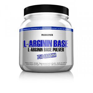 Pharmasports-750g-Dose-L-ARGININ-BASE-PULVER-100-REIN