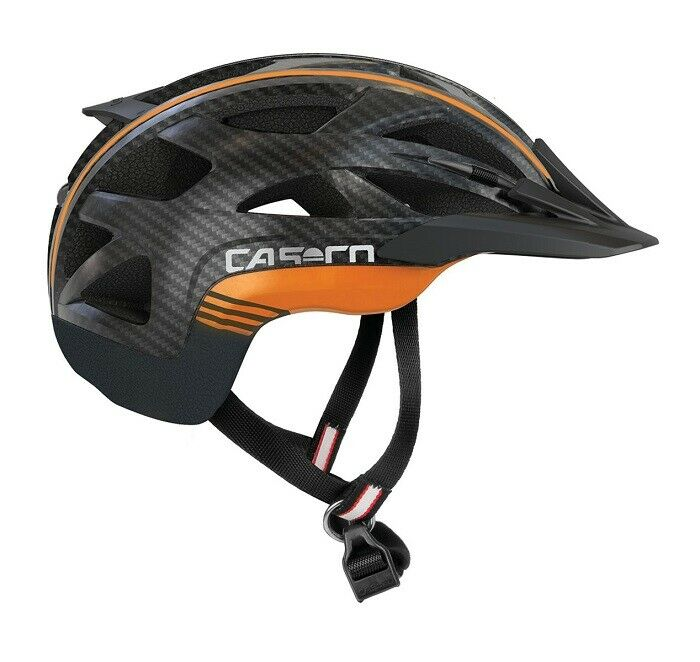 Casco - Activ 2 - Farbe  black-orange - Größe  M (56 - 58 cm)
