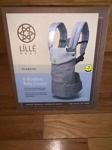 New-In-Box-Lille-Baby-Classics-6-Position-Carrier-Color-Dove