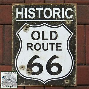 ARIZONA US ROUTE 66 Tin Sign Garage Man Cave Street Road Highway Plaque S-169