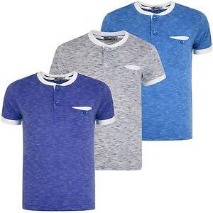 032fa38b3 Boys Placket Top Henley Shirt White Colour Combi Kids Pocket Marl T ...