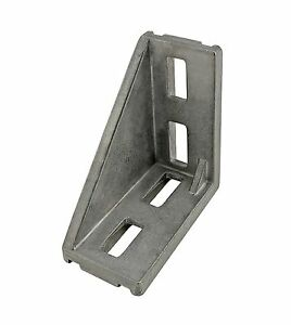 80//20 Inc T-Slot Aluminum 8 Hole Inside Corner Bracket 40 Series #14105 N