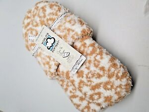 3197b10af Image is loading Womens-Open-Toe-Slippers-Cheetah-Worlds-Softest-Cozy-