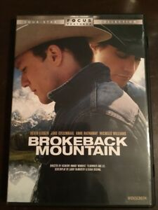 BROKEBACK-MOUNTAIN-Heath-Ledger-Jake-Gyllenhaal-Very-Good-Condition-DVD-R1-NTSC