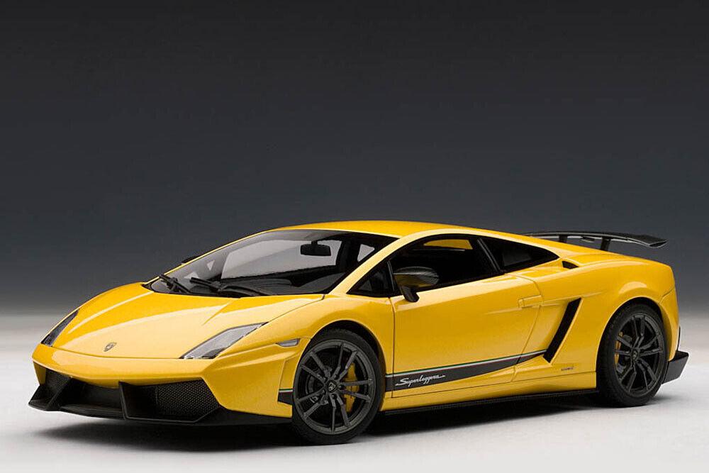 Autoart 74658 1 18 Lamborghini Gallardo lp570 4 Superleggera 2010 metalizado Yello