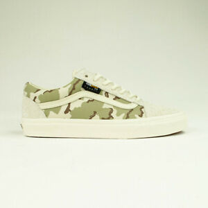 Details zu Vans Old Skool Cordura Trainers Shoes in White Camo UK Sizes 7,8,9,10