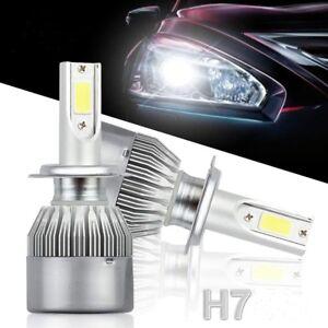 2x h7 led headlight auto scheinwerfer birnen leuchte. Black Bedroom Furniture Sets. Home Design Ideas