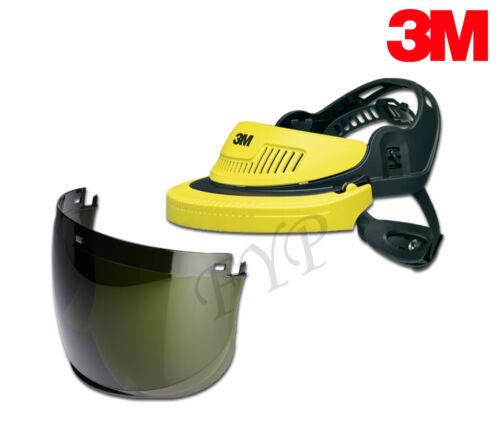 Schutzhelm 3M Peltor G500-GU 5E-11 Schweißer Visier Kopfschutz Gesichtsschutz