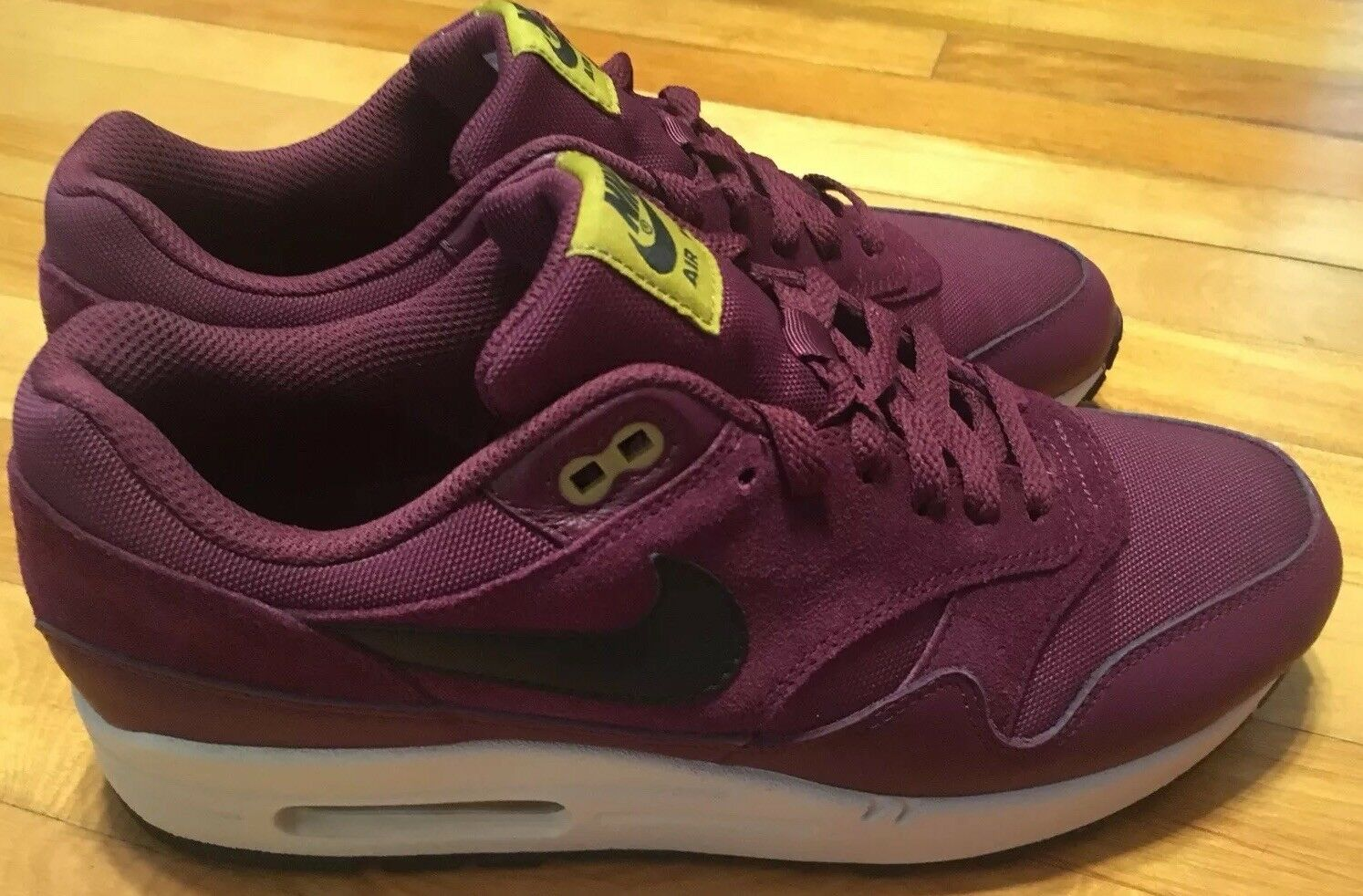 0398abf650 Nike Air Max Burgundy Size 9 Perfect Condition 1 Suede nyecul2485 ...