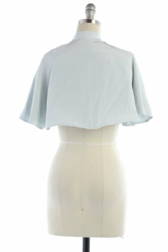 NWOT Sz S BHLDN Anthropologie Sky Blue Watercourse Jacket Bridal cover-up shawl