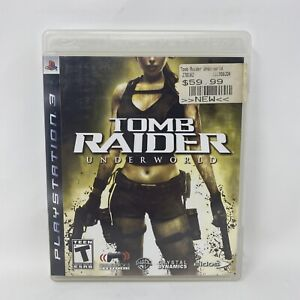 Tomb Raider: Underworld (Sony PlayStation 3, 2008) PS3 Complete Tested Working