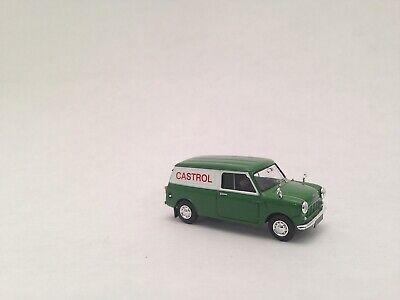 IV GB Epoche III Brekina H0 15357 Austin Mini Van Castrol TD