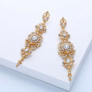 18K-Gold-Plated-Crystal-Fashion-Drop-Dangle-Butterfly-Earrings-for-Women-Jewelry