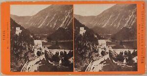 Tirol-Photo-Stereo-Wurthle-amp-Sohn-Salzburg-Autriche-Vintage-Albumine