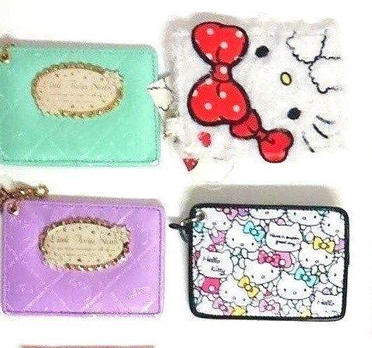 【Hello-kitty】【Mymelody】【Little twin star】pass case ID metrocard case SANRIO
