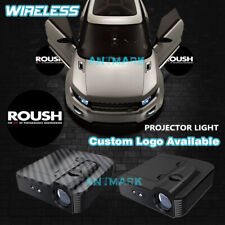 Led Wireless Car Door For D Roush Logo Projector Welcome Step Ghost Shadow Light Fits Focus