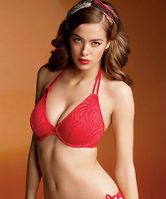 Brand New Freya Swimwear Cha Cha Halter Bikini Top Red 3293 VARIOUS SIZES