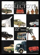 COLLECTOYS  22 eme  vente de jouets anciens     19 mai 2001