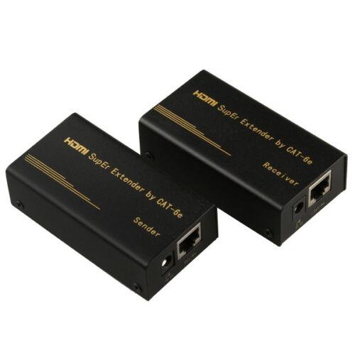 HDMI Video Audio to single Cat5e//Cat6e extender 1080P FULL HD 50M//150FT for HDTV