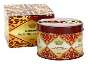 Al-Haramain Oudh Oud Ma'jun Majun Maliki Bakhoor Bukhoor Incense  50 grams