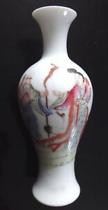 Ancien-vase-chinois-porcelaine-famille-rose-Old-chinese-porcelain-ceramic-mark