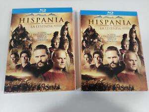 HISPANIA-LA-LEYENDA-TEMPORADA-SEASON-2-3-X-BLU-RAY-EXTRAS-ESPANOL-amp