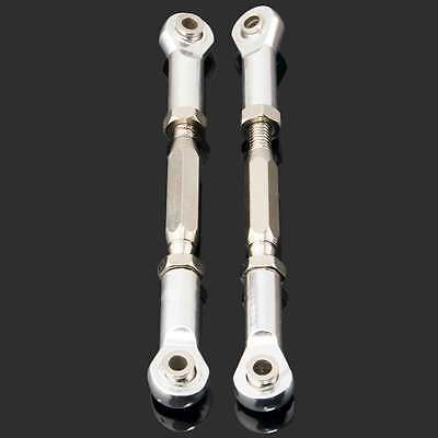 RC 106017(06016+08042)Gray Alum Steering Linkage 2P Fit HSP 1//10 Buggy Truck