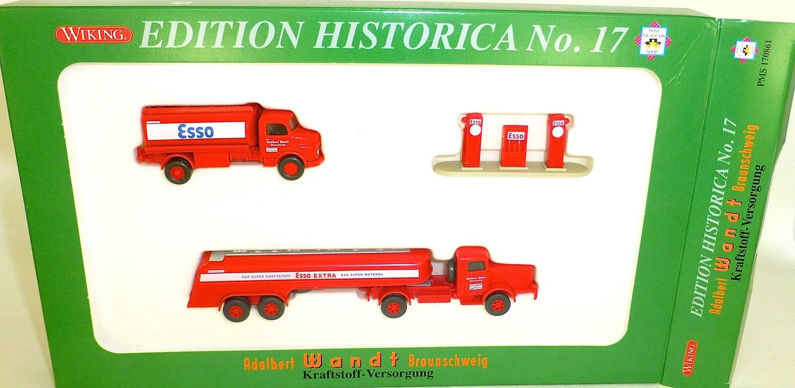 Edition Historica No 17 past Esso Wiking Pms 170861 170861 170861 H0 1 87 Ovp Lf1 Å 061c3a