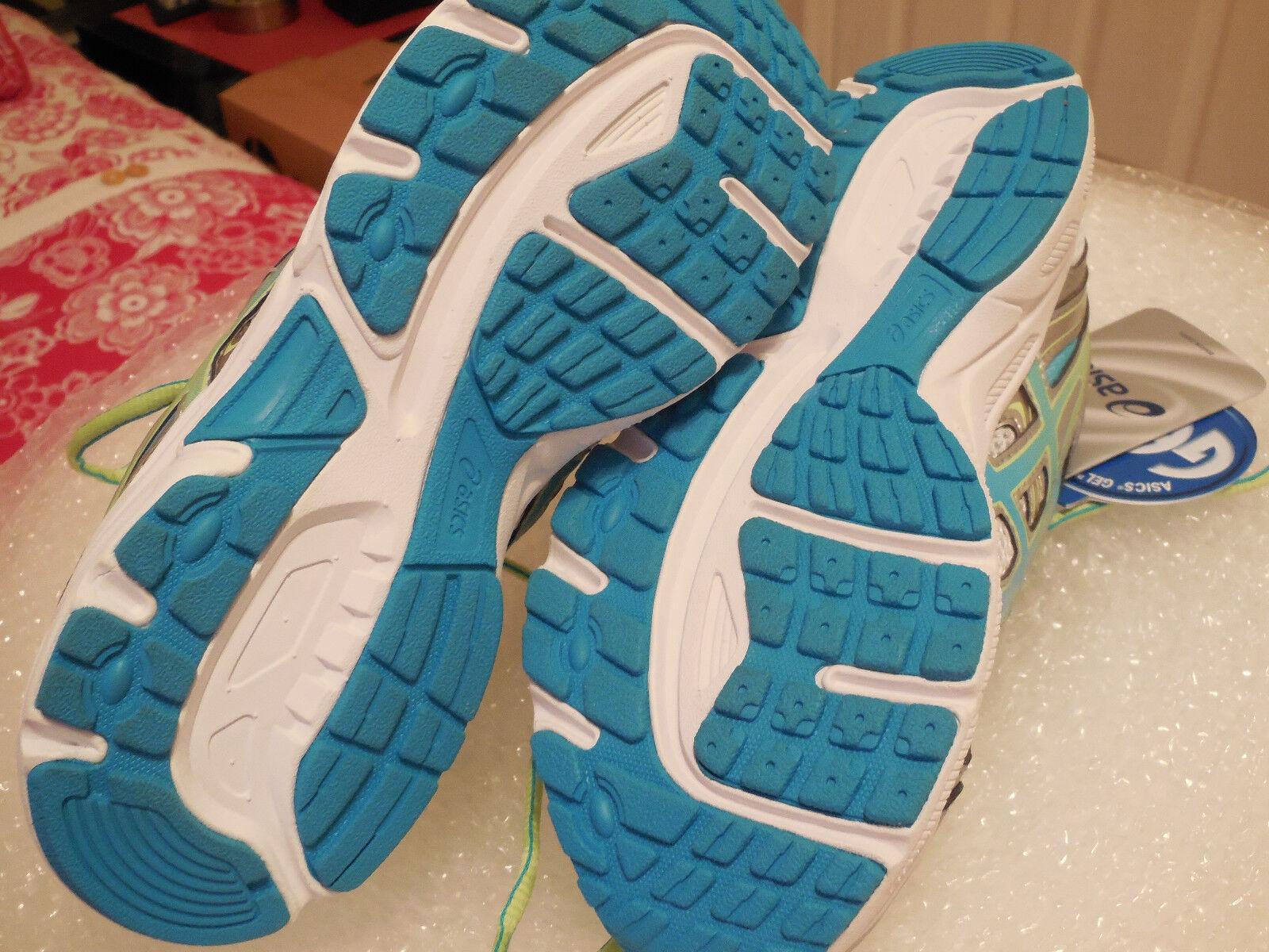 ASICS Schuhe,Weiß/Turquoise/Sharp Damenschuhe Gel-Contend 2 Running Schuhe,Weiß/Turquoise/Sharp ASICS Green SIZE 6 9b5e99